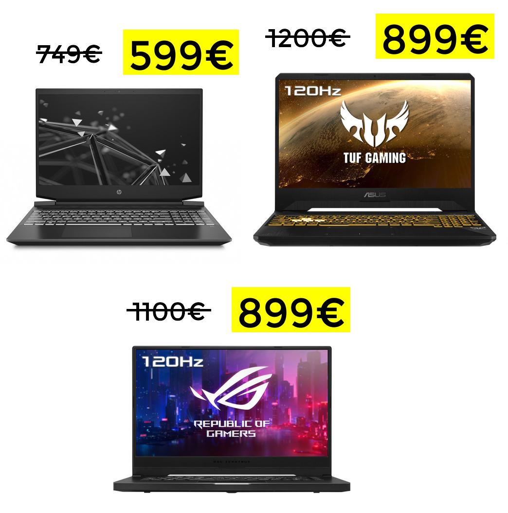 Preciazos en portátiles Ryzen desde 599€