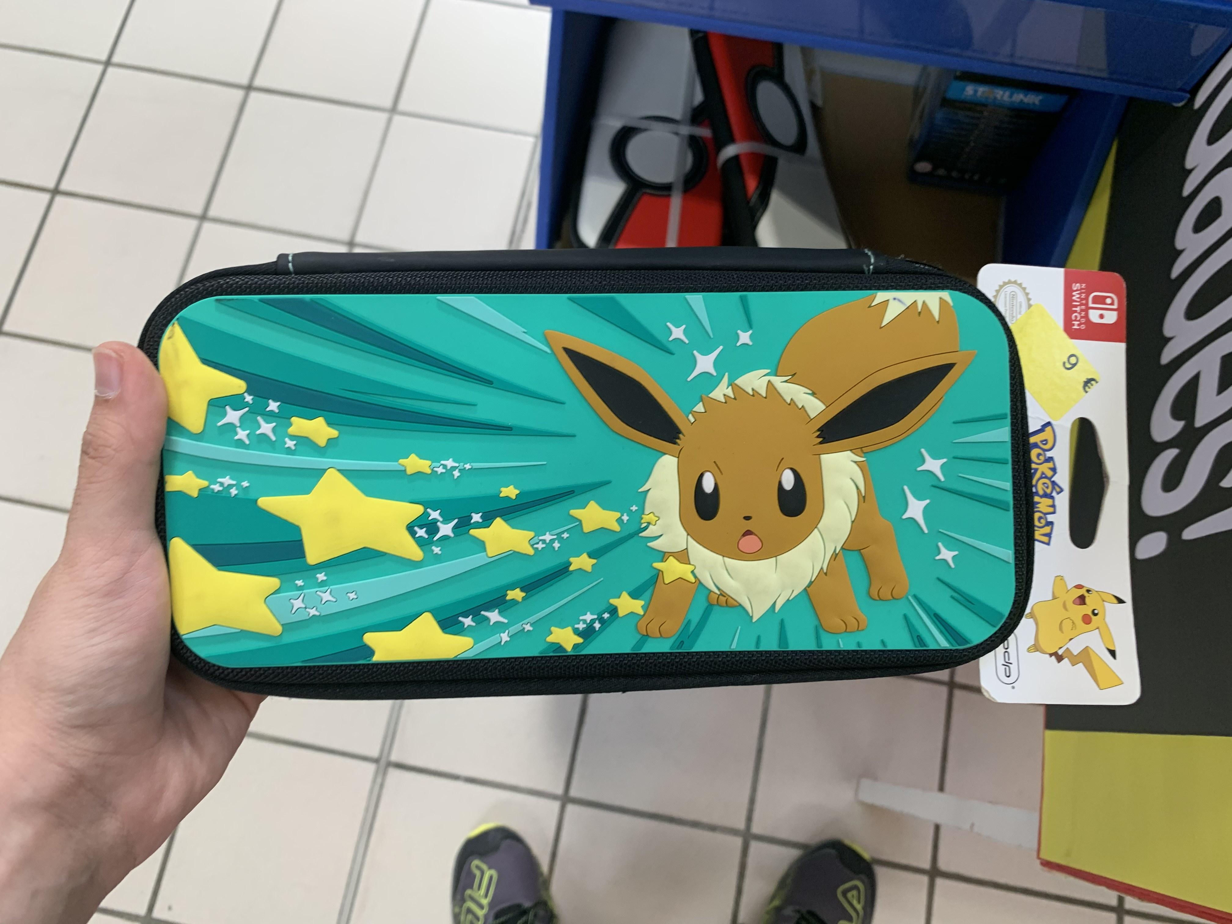 PDP Funda Travel Case Eevee, Nintendo Switch (Carrefour Lorca)
