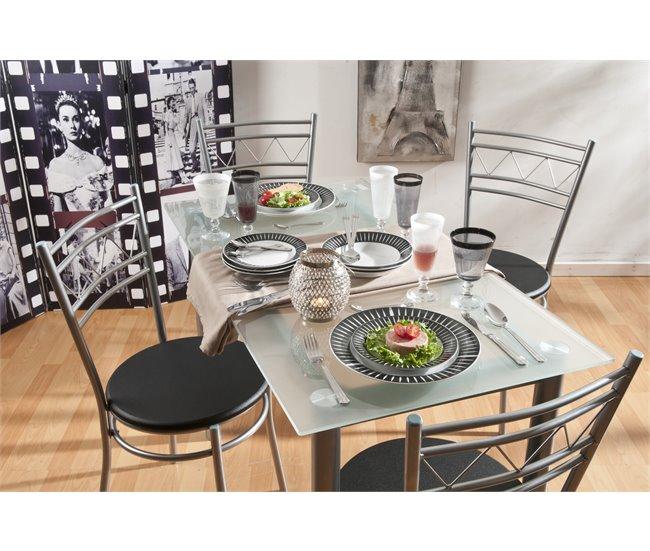 Mesa y 4 sillas de cocina por solo 119 euros!!