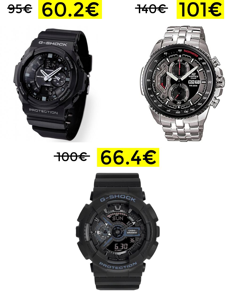 Buenos precios en relojes Casio