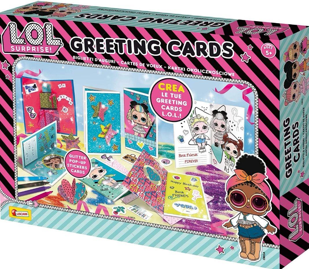 Juego para niños LOL Surprise Greeting Cards (Precio mínimo)