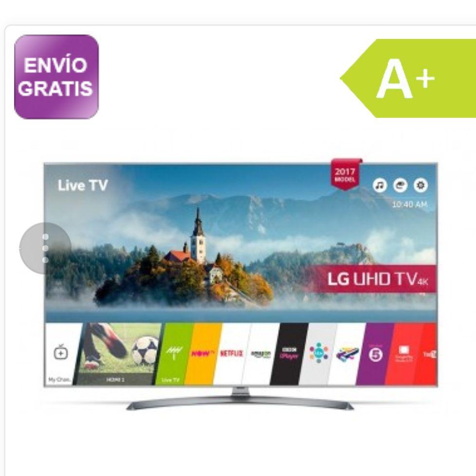 Televisor LG 65 UJ750V 65 pulgadas 4K HDR