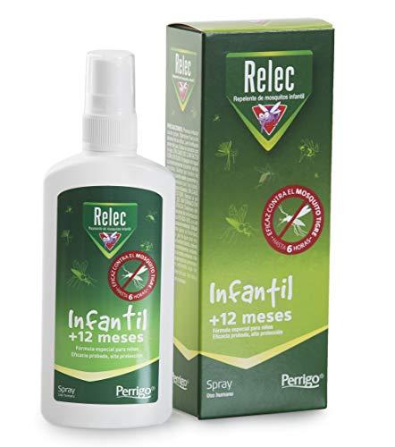 Relec Infantil Spray Antimosquitos   Fórmula especial para niños   A partir de 1 año   100 ml