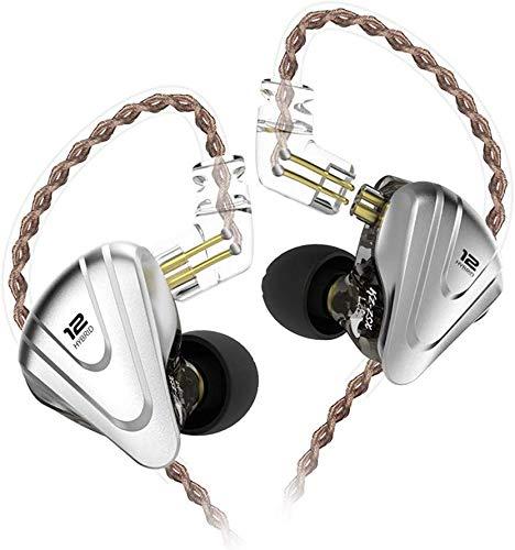Auriculares Híbridos KZ ZSX - 12 altavoces, Amazon Prime casi a precio de Aliexpress
