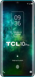 """TCL 10 Pro – Smartphone de 6.47"""" FHD+AMOLED curvo- Procesador Octacore, 6GB Ram, Memoria 128GB, 4 Cámaras 64MP+16MP+5MP+2MP, Frontal 24MP"""