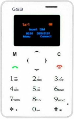 Card Phone Ultra Slim X6 G53: mini móvil ideal para verano Original con Garantía