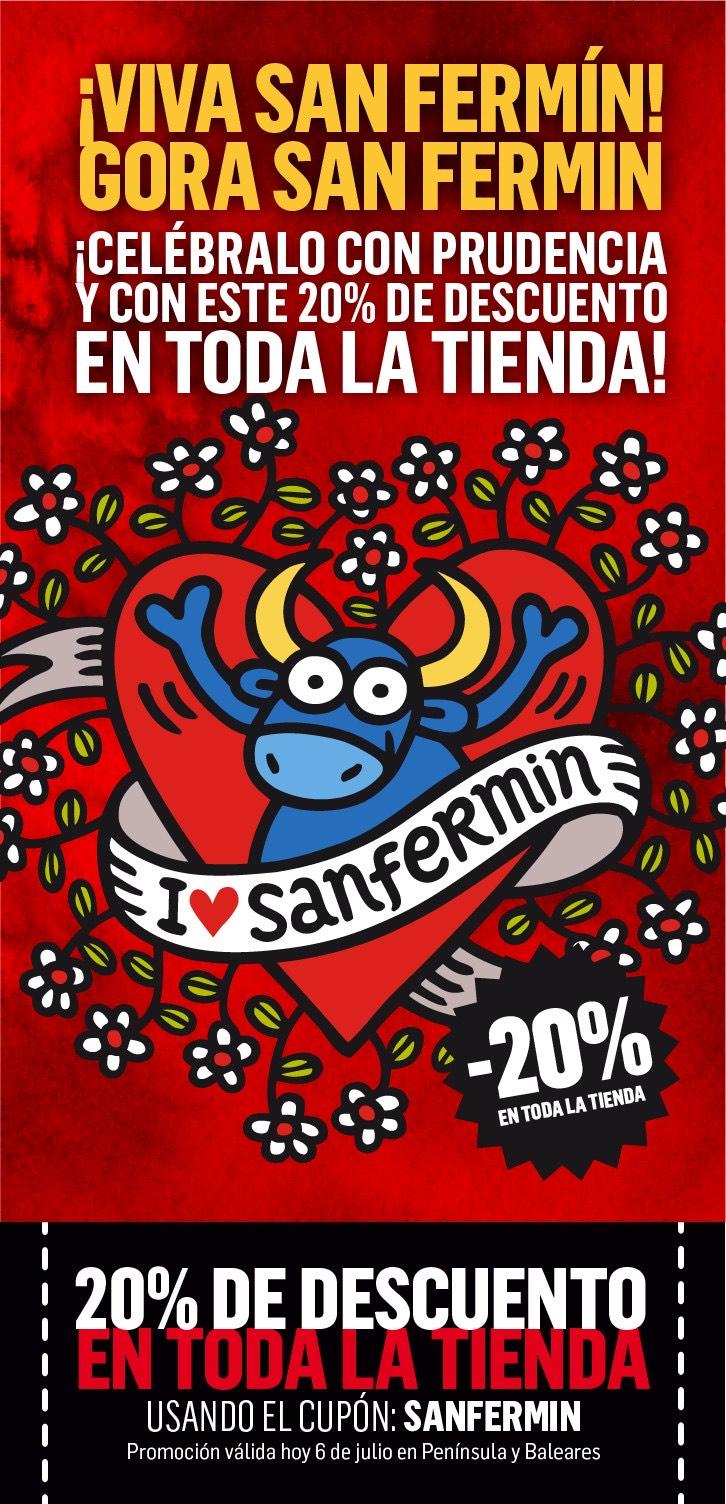 Kukuxumusu - 20% descuento en toda la tienda