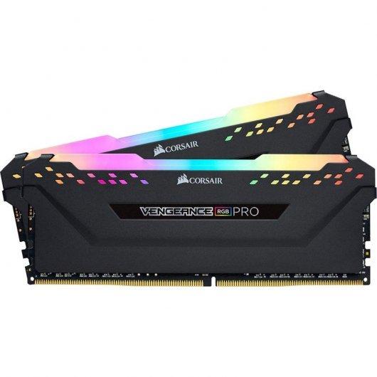 Corsair Vengeance RGB Pro Optimizado AMD DDR4 3200 16GB 2x8GB CL16