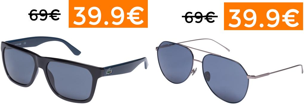 Selección gafas de sol LACOSTE
