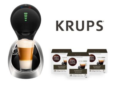 Cafetera automática KRUPS Movenza + 48 KRUPS Nescafé Dolce Gusto