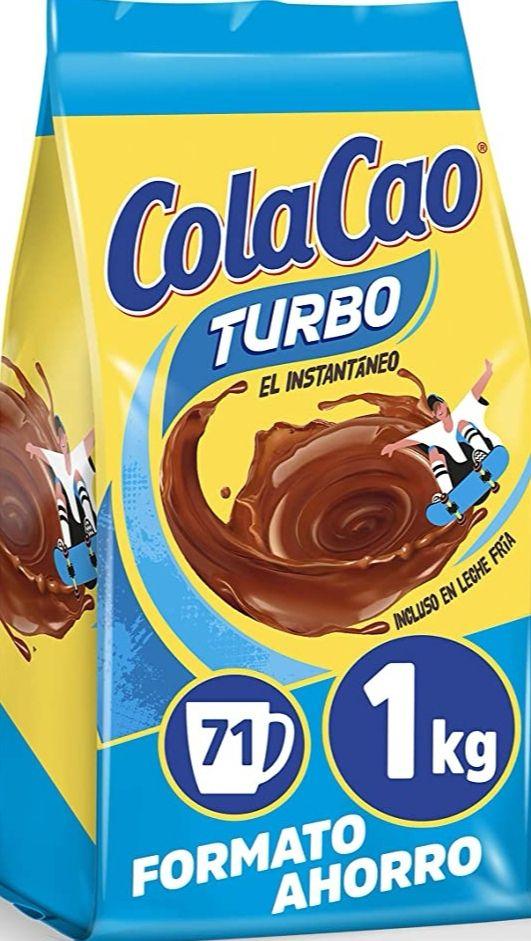 ColaCao Turbo: Cacao Instantáneo y sin Grumitos, 1kg