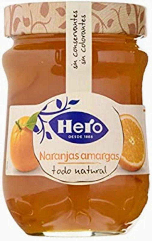 (PACK DE 8 )HERO Confitura Extra de Naranja Amarga (Precio al tramitar) 1.05€ Unidad.