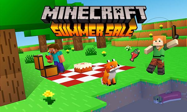 Mapa y Emote gratis Minecraft en las Rebajas de Verano