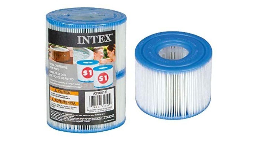 Intex 55000 - Pack de 2 cartuchos SPA tipo S1