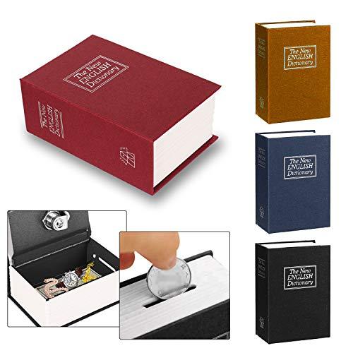 Caja de seguridad secreta con forma de libro