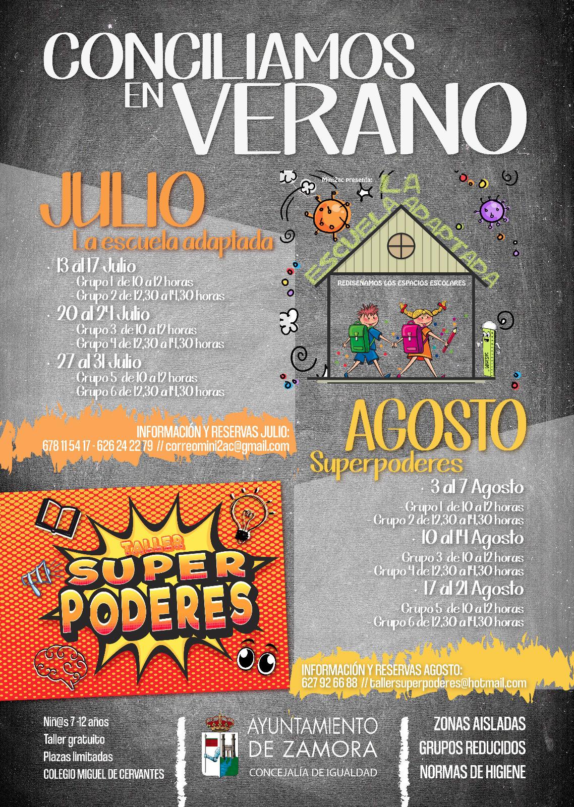 El Ayuntamiento de Zamora ofrece 15 cursos y talleres gratis para jóvenes