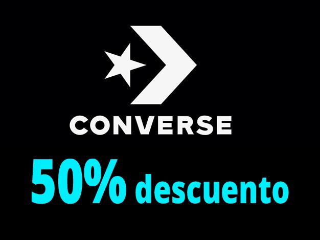 Converse al 50% de Descuento