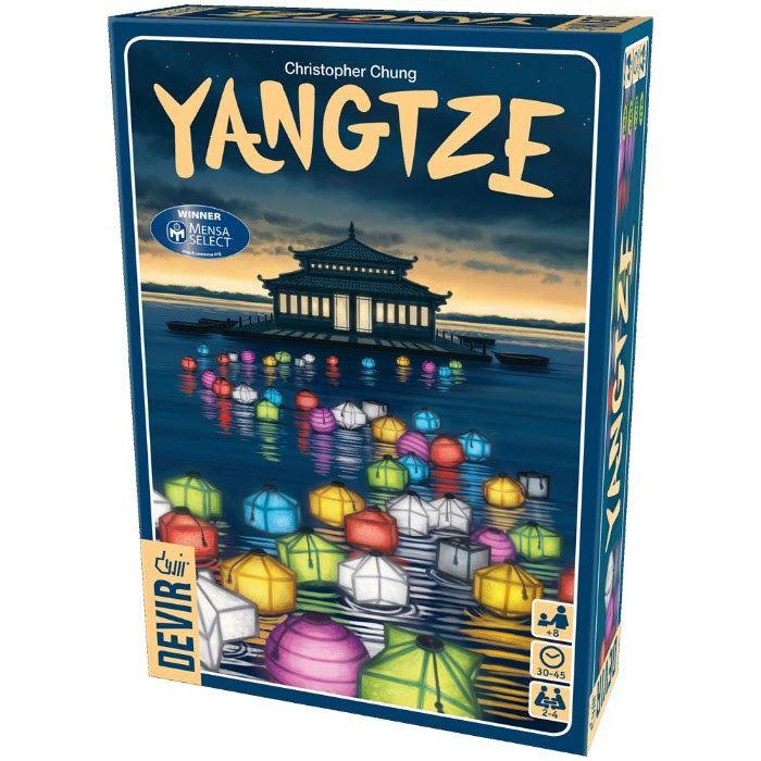 Yangtze. Juego de tablero Devir