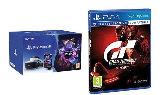 Pack Playstation VR V2 + Gran turismo