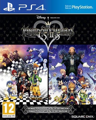 Juego Kingdom Hearts HD 1.5 + 2.5 Remix para PS4
