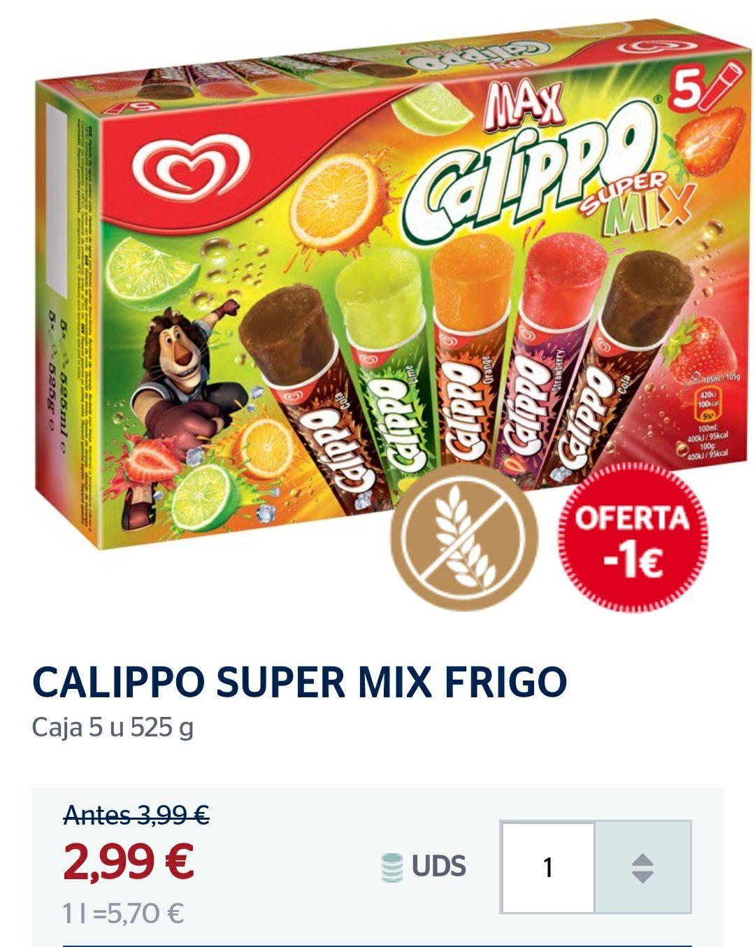 CALIPO MIX 0,60€ LA UNIDAD.