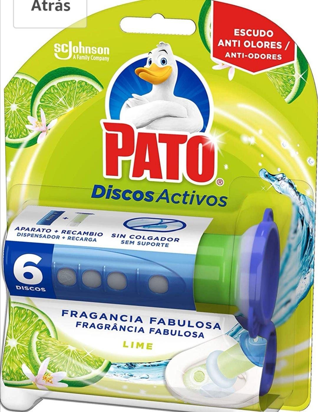 Pack 3 Pato - Discos Activos WC Lima, aplicador y recambio con 6 discos