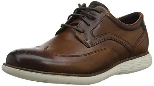 TALLA 46 - Rockport Garett Wingtip, Zapatos de Cordones Brogue para Hombre
