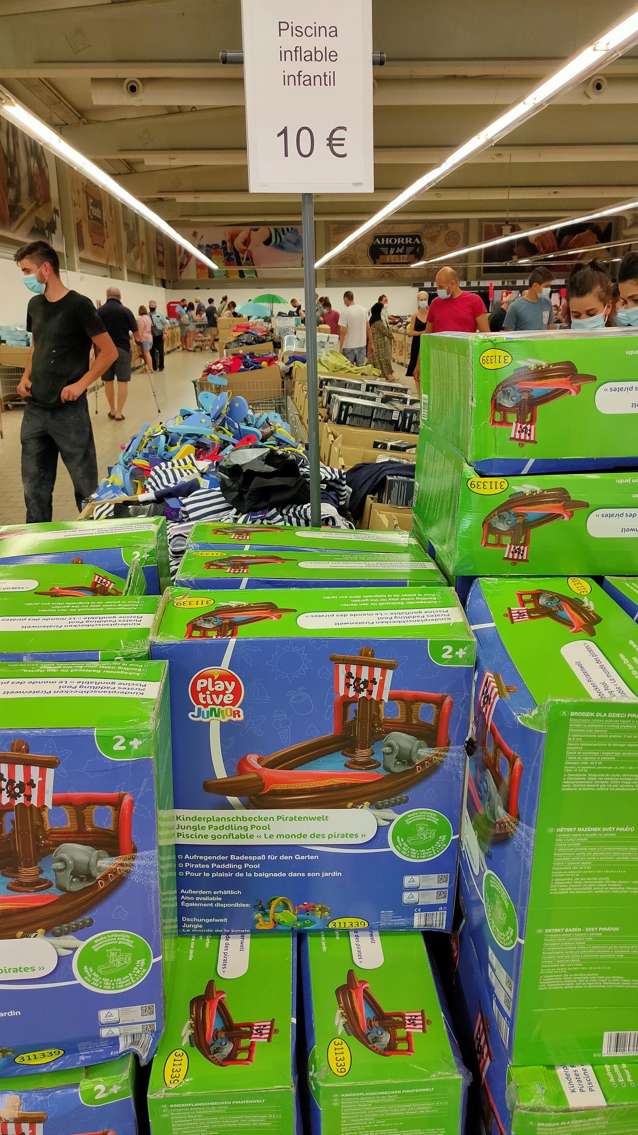 Piscina Hinchable de niños en factory discount de Lidl