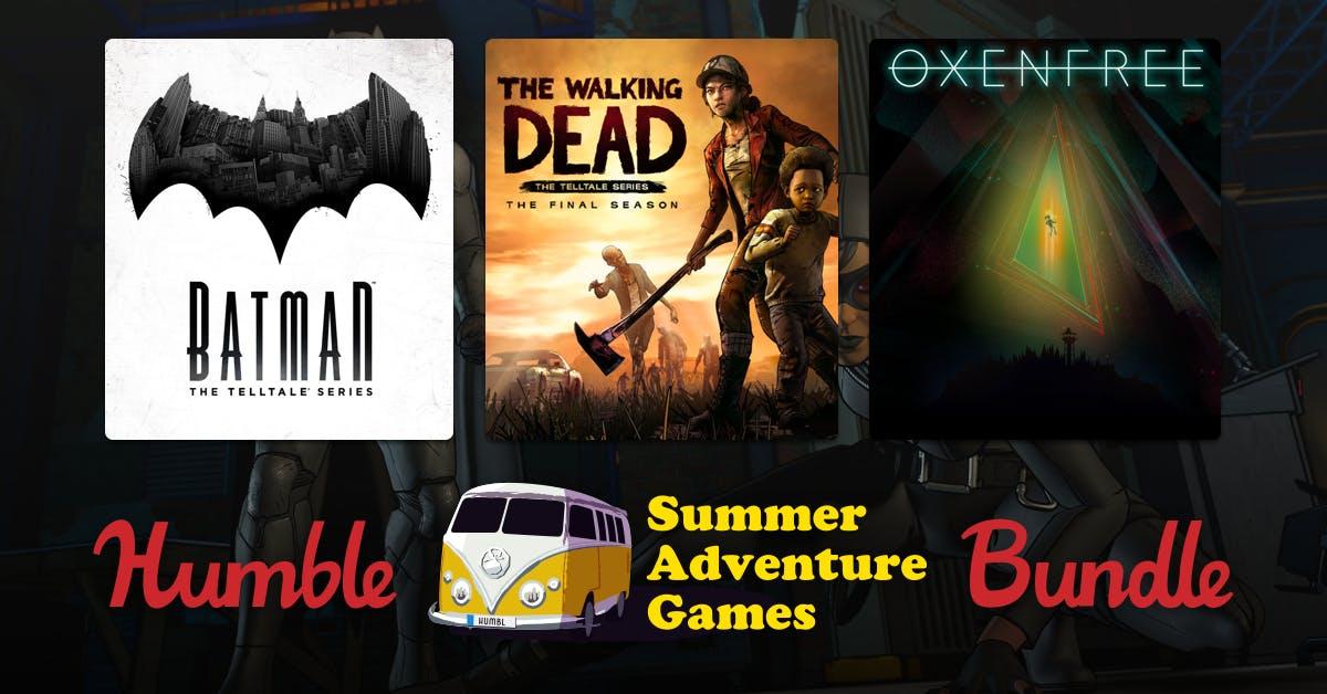 Pagas 1€ por 4 juegos: Batman, The Walking Dead, Oxenfree y otros
