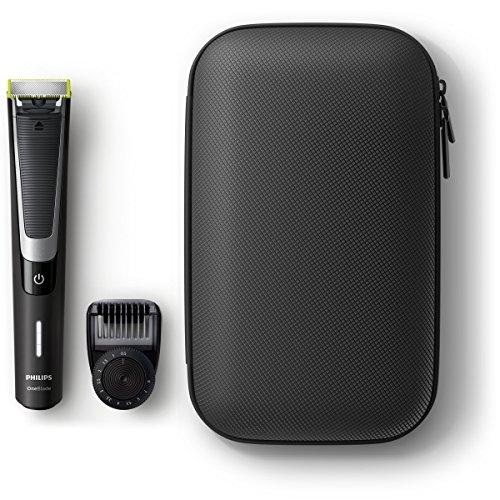 Philips OneBlade Pro - Pack de recortador de barba con peine de precisión de 12mm