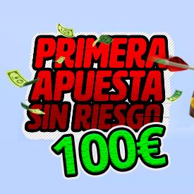 100€ sin riesgo en WINAMAX