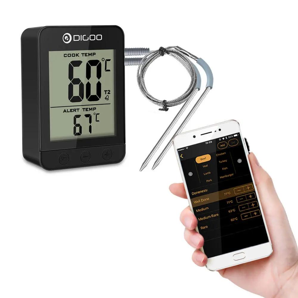 Termómetro de cocina Bluetooth Digoo DG-FT2203