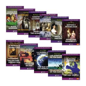 Novela bilingüe español / inglés en Aldi