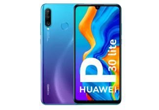 "Móvil - Huawei P30 Lite, Azul, 128 GB, 4 GB RAM, 6.15"" Full HD+, Kirin 710, 3340 mAh, Android"