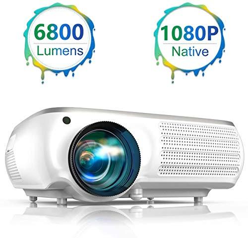 Proyector LED TOPTRO 6800 Lúmenes - Full HD - Altavoces Estéreo