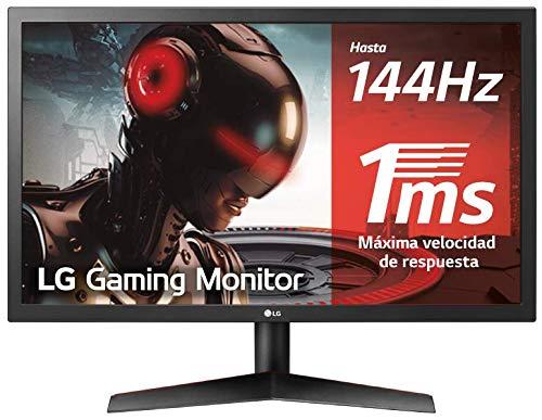 "Monitor LG Full HD de 24"" / 1 ms / 144Hz"