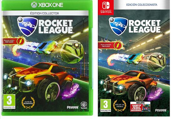 Rocket League Edición coleccionista 9.9€