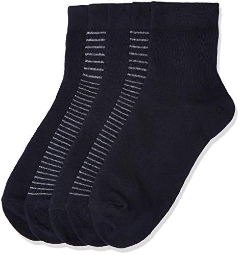 ¡Pack de 5! Calcetines bajos de Algodón MERAKI hombre talla 39-42