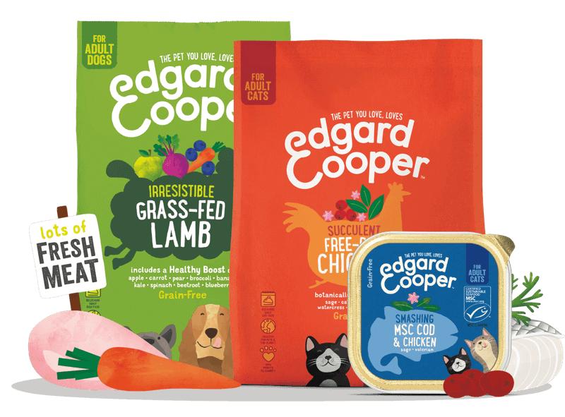 Vuelve el 20% de descuento en comida para perros y gatos de Edgard & Cooper