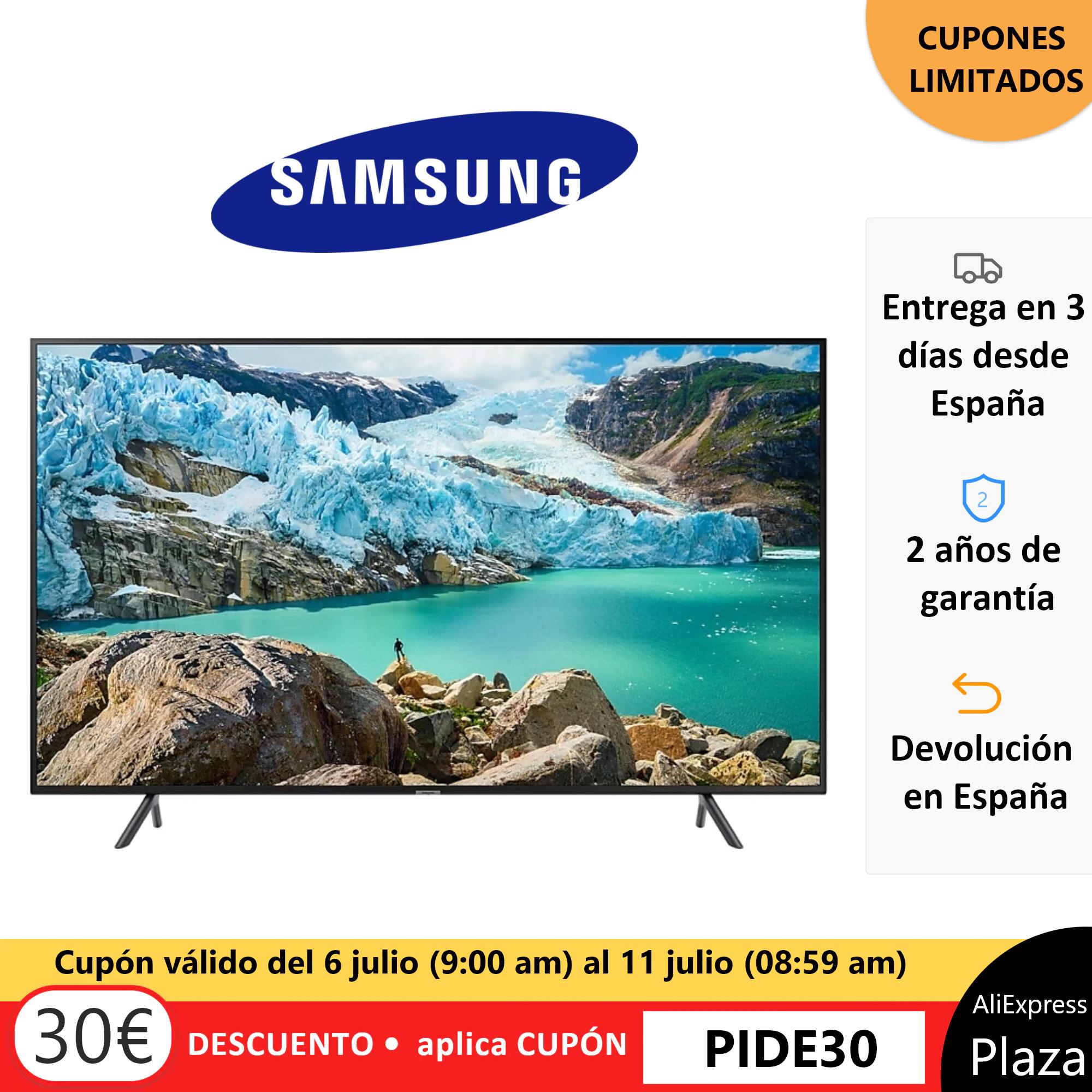 Televisor de 43″ Samsung UE43RU7172.