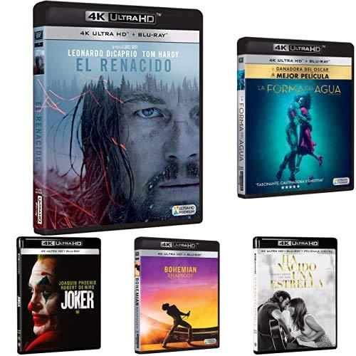 Descuentos en packs de películas Blu-ray 4k
