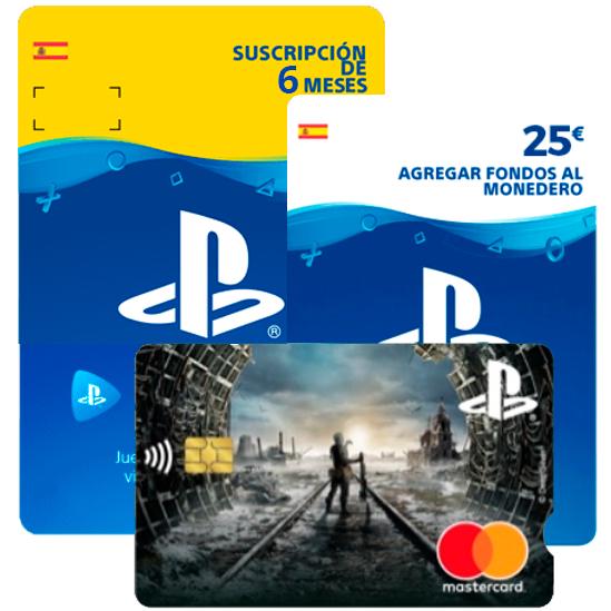6 meses PS Plus + 25€ saldo GRATIS con Tarjeta Playstation