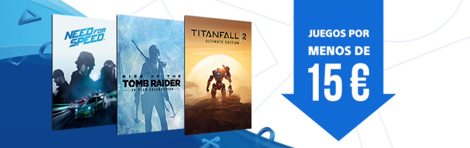 Juegos PS4 por menos de 15 euros