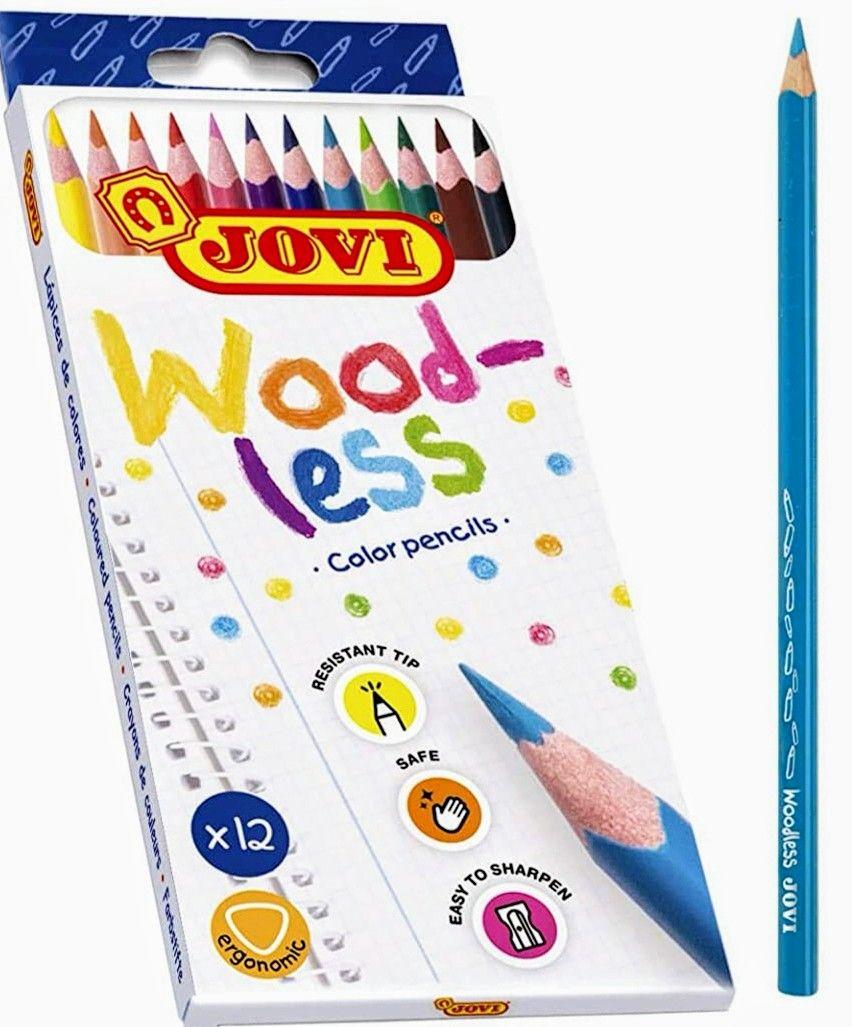 JOVI- Lápices de colores, 12 Unidades (Precio mínimo)