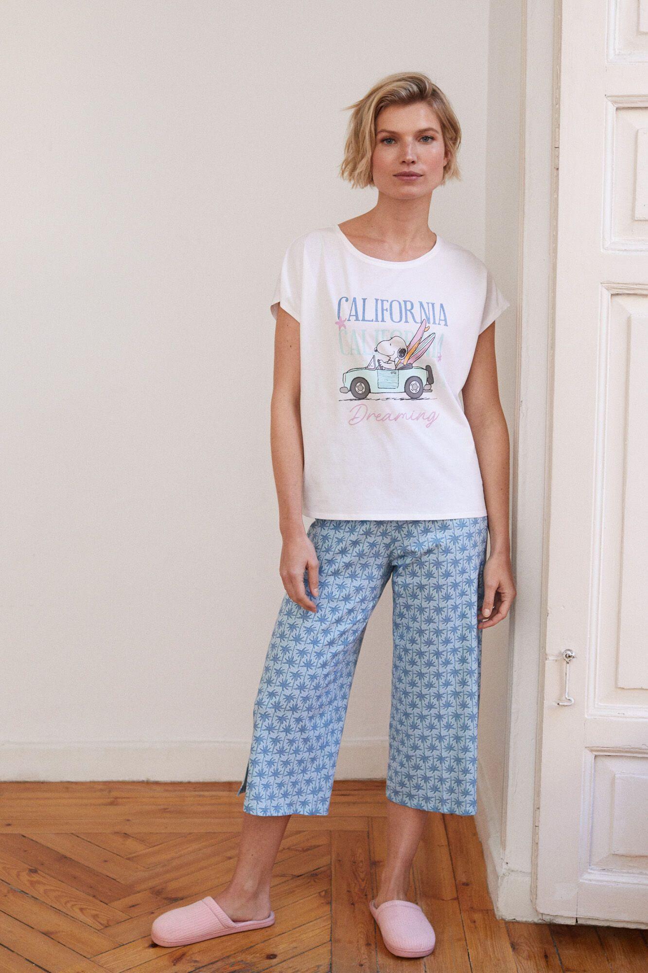 Pijama capri Snoopy