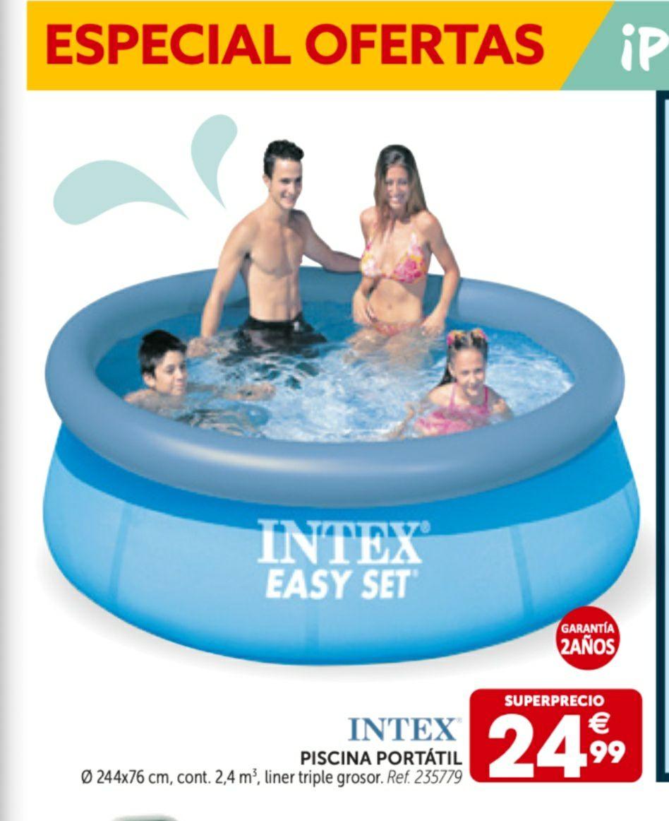PISCINA INTEX 244X76 (2.400l) en tienda física gifi