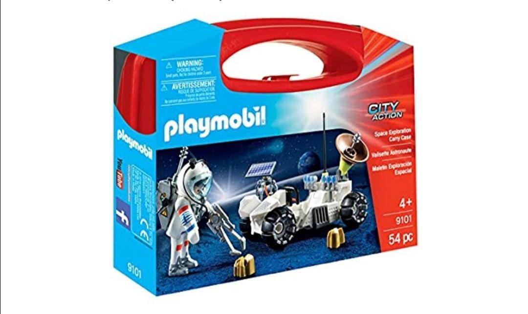 Playmobil-9101 Maletín Grande Exploración Espacial
