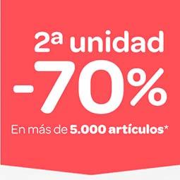 Carrefour desde el 14/07: 2ª al 70% en unos cuantos artículos