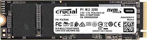 Crucial P1 SSD 500GB NVMe