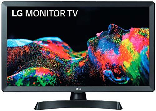 """LG 28TL510S-PZ - Monitor Smart TV de 70cm (28"""") con Pantalla LED HD 1366x768, 16:9, DVB-T2/C/S2, WiFi, Miracast, USB Grabador."""